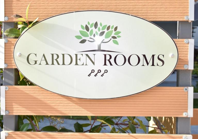 GARDEN ROOMS OUTSIDE BACK